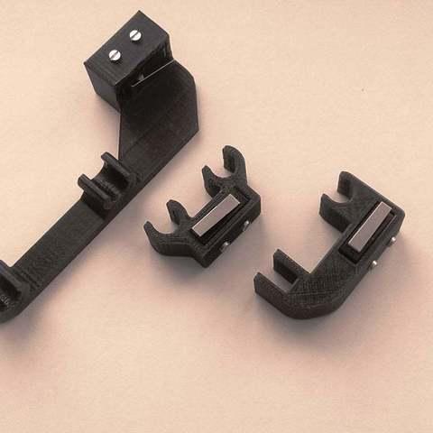 Free 3D print files End stops for Prusa i3 Improved for laser cut, KarmaPrinting