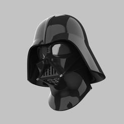 DarthVader-Rebels-Caméra 5.113.jpg Télécharger fichier STL Dark Vador Helmet ROTS - Fichiers d'impression 3D • Plan imprimable en 3D, FolkyPatrol