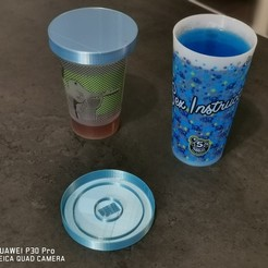 Download free 3D printer templates drinkglass cover, CynemoSniper