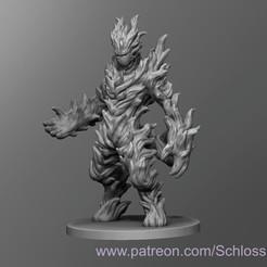 Descargar Modelos 3D para imprimir gratis Elemental de Fuego, schlossbauer