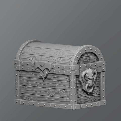 Download free 3D printing designs Chest, schlossbauer