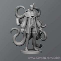 Imprimir en 3D gratis Slenderman Medieval, schlossbauer