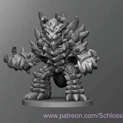 Download free 3D printing templates Bowser, schlossbauer