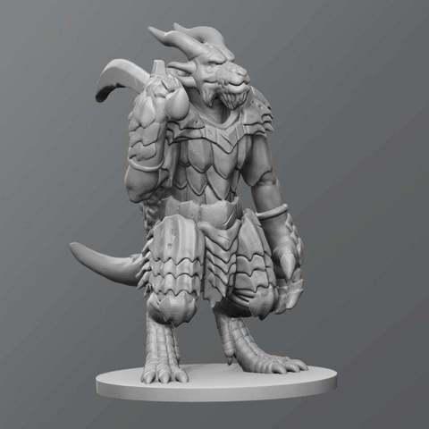 Download free 3D printing templates Kobold boss, schlossbauer