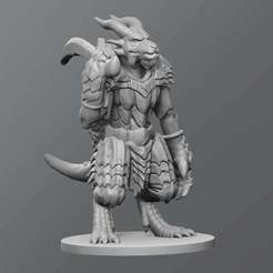 Download free 3D printing templates Kobold boss, schlossbauer