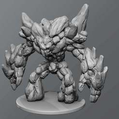 Download free 3D printing designs Earth elemental, schlossbauer