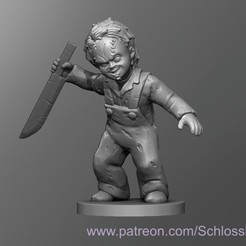 Descargar archivos STL gratis Chucky Medieval, schlossbauer