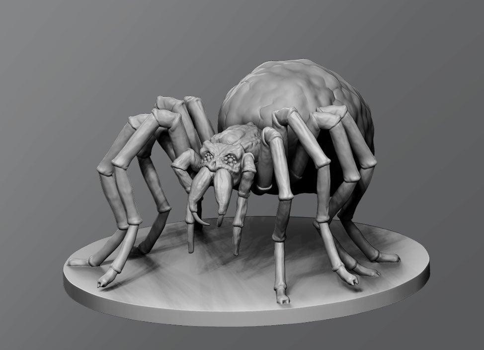 24b9fb8d9469b2a711db0f2dc2cb5dad_display_large.jpg Download free STL file Skullspider • 3D print template, schlossbauer