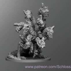 Zombie_Hydra.jpg Download free STL file Zombie Hydra • 3D print template, schlossbauer