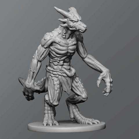 Descargar archivos 3D gratis zombi de Kobold, schlossbauer