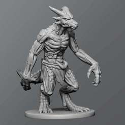 Download free 3D printer designs Kobold zombie, schlossbauer