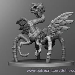 Download free 3D printer designs Giant Spider Chicken, schlossbauer