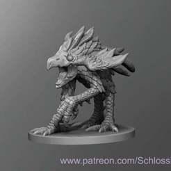 Achaierai.jpg Download free STL file Achaierai • 3D printing design, schlossbauer