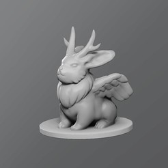 Download free 3D printing models Wolpertinger, schlossbauer
