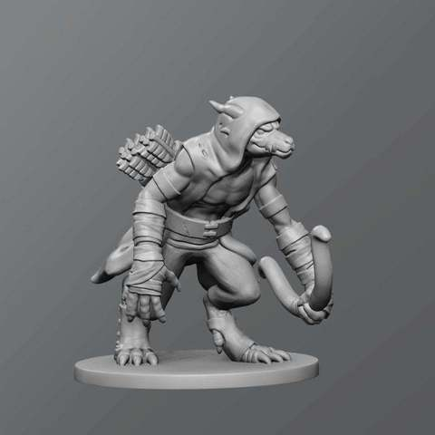Download free 3D printing files Kobold Skirmisher, schlossbauer