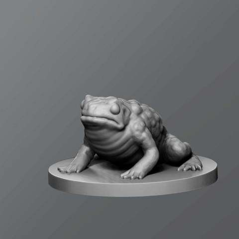 Download free 3D model Toad, schlossbauer