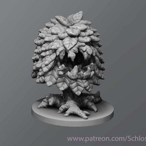 Download free 3D printing models Awakened shrub, schlossbauer