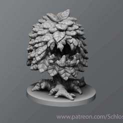Descargar archivos 3D gratis Arbusto despierto, schlossbauer