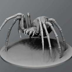 Download free 3D printing models Undead Spider, schlossbauer