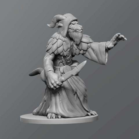Free 3D printer model Dragontouched kobold, schlossbauer