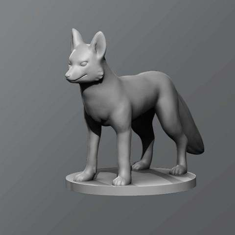 Download free 3D printer designs Fox, schlossbauer