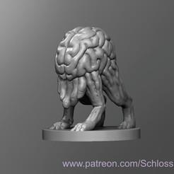 Descargar Modelos 3D para imprimir gratis Devorador de intelecto, schlossbauer