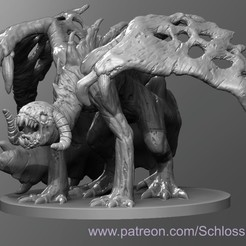 Imprimir en 3D gratis Dragón Zombie, schlossbauer