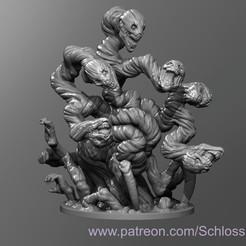 Descargar diseños 3D gratis Hidra Falsa Madura, schlossbauer