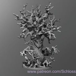 Download free 3D printing files Tree Blight, schlossbauer