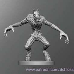 Lovecraft_Ghoul.jpg Télécharger fichier STL gratuit Goule de Lovecraft • Plan à imprimer en 3D, schlossbauer