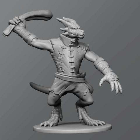 Download free 3D model Kobold ver.2, schlossbauer