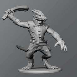 Download free 3D model Kobold ver.2, schlossbauer