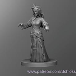 Descargar Modelos 3D para imprimir gratis Llorona Medieval, schlossbauer
