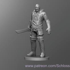 Descargar archivo 3D gratis Jasón Medieval, schlossbauer