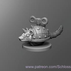 Impresiones 3D gratis Rata de relojería, schlossbauer