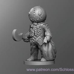 Descargar modelos 3D gratis Sam medieval, schlossbauer