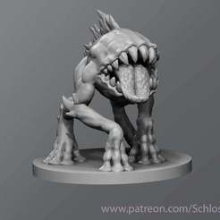 Download free STL file Black Imp, schlossbauer