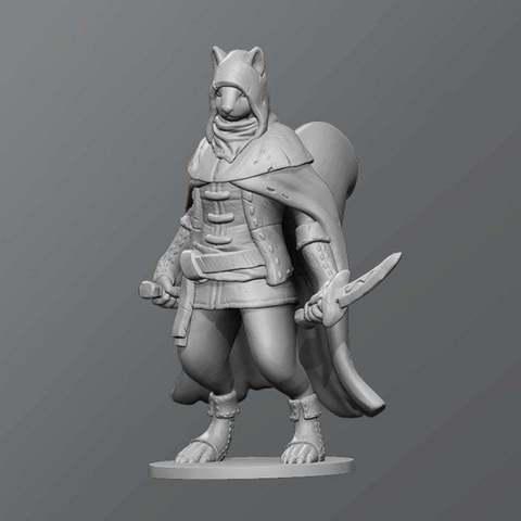 Download free 3D print files Squirrel assassin, schlossbauer