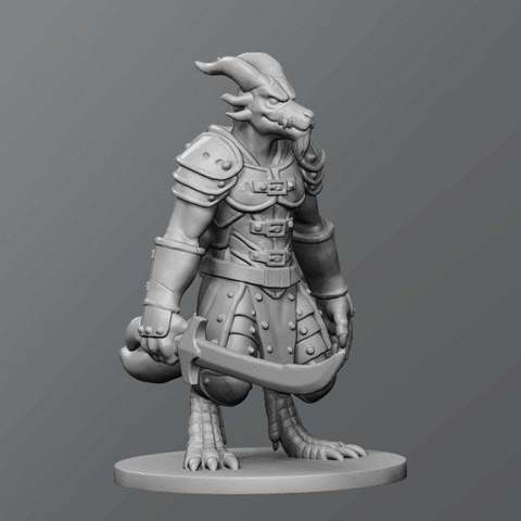 1680ab07067201c0feb596ad8ace2c7b_display_large.jpg Download free STL file Kobold warrior • Design to 3D print, schlossbauer