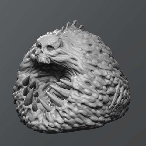 Download free 3D printer designs necroslime, schlossbauer