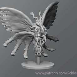 Download free STL Poison Butterfly, schlossbauer