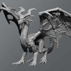 Download free 3D model Undead dragon, schlossbauer