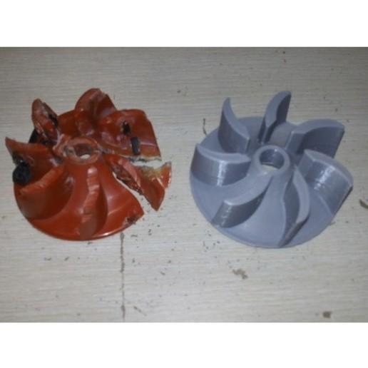 Télécharger fichier STL gratuit Roue pour un aspirateur Air-Ram BISSELL GTech • Design imprimable en 3D, Lizandro_Duran