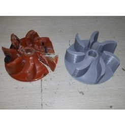 IMG_20190327_230450.jpg Download free STL file Impeller for a Vacuum Cleaner Air-Ram BISSELL GTech • Object to 3D print, Lizandro_Duran