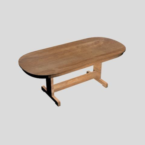 3D print files beta oval table, andrestuesta22