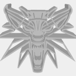 Download STL witcher mascot Geralt COOKIE CUTTER, kindPerson