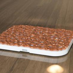 2.jpg Télécharger fichier STL QI WIRELESS Voronoi • Design pour impression 3D, 3dpsilon