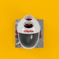 1.png Download STL file Space Helmet Wall • 3D printable model, 3dpsilon