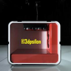 1.png Download STL file Computer Case • Object to 3D print, 3dpsilon
