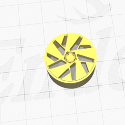 Descargar modelo 3D gratis Llanta №3 para modelos de coches Revell, bullseye2